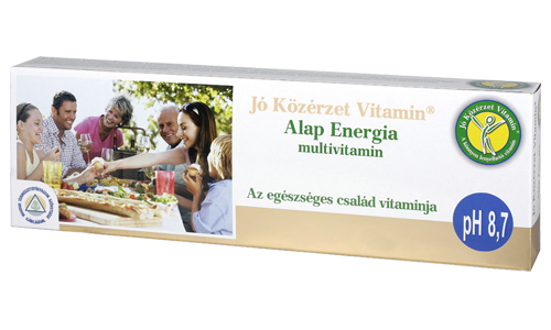 Jó Közérzet Vitamin Alap Energia multivitamin