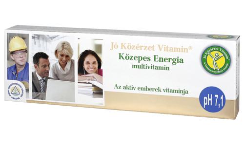Jó Közérzet Vitamin - Közepes Energia multivitamin