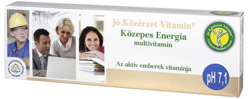 Jó Közérzet Központ - Közepes Energia multivitamin